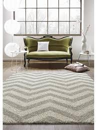 Schlafzimmer Teppich Kaufen Benuta Shaggy Hochflor Teppich Graphic Zick Zack Grau 160x230 Cm