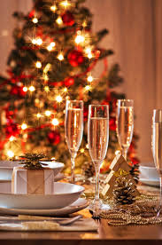 apartments elegant christmas party table decorations ideas with