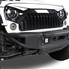 white jeep wrangler 2 door white front topfire grille grid grill for jeep wrangler jk 2011