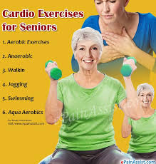 cardio exercises for seniors its benefits