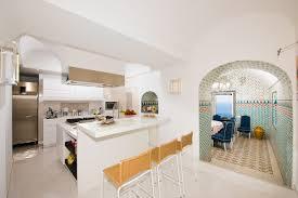 cucina e sala da pranzo villa positano cucina e sala da pranzo contemporaneo