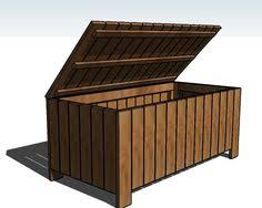 build an outdoor storage box get the diy building plans at