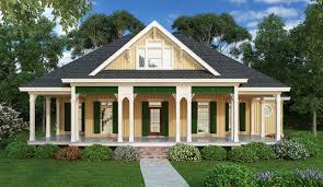 plan 55155br southern style 3 bed raised cottage architectural