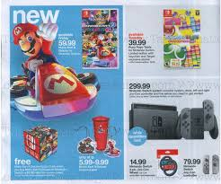 when does target release black friday ad nintendo switch advertised in target u0027s sunday weekly ad