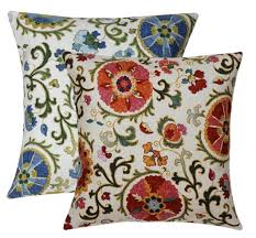 Decorative Throw Pillows Suzani Decorative Throw Pillows To Use As