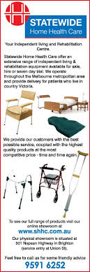 Statewide Home Health Care HireMedical Equipment  Nepean - Home health care furniture