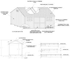Shed Floor Plan by Shed Specs Pop U0027s Barns Llc