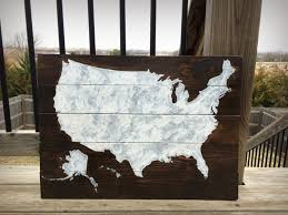 Home Decor Distributors U S A by Rustic Usa Pallet Map Wooden United States Map Usa Pallet Map