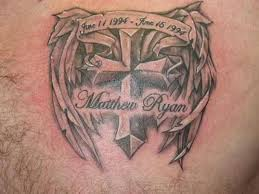 remembrance on chest