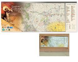 Colorado Tourism Map by Colorado Heritage Tourism Map Signage Crybabydesign Com