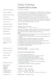 Skills Based Resume Example Functional Skills Based Resume Template Customer Service Templates