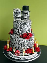 day of the dead wedding cake cakelava dia de los muertos day of the dead wedding cake