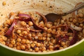 cuisine marocaine classement salade de pois chiches à la marocaine la cuisine et les voyages de