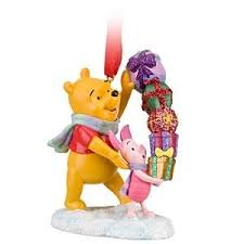disney piglet and winnie the pooh ornament co uk kitchen