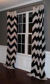 White Chevron Curtains Black And White Chevron Curtain Déco Maison Pinterest