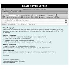 Resume Cover Letter Closing How To Email Cover Letter And Resume Attachments Image Collections