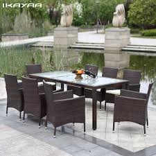 outdoor patio furniture set online get cheap wicker outdoor patio sets aliexpress com