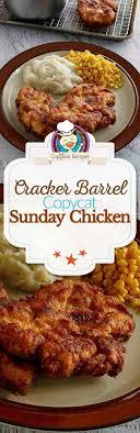 best 25 cracker barrel recipes ideas on chicken