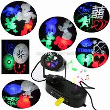 Christmas Light Projector Outdoor by Birthday Party Led Christmas Lights Rgb Decoration Dj Disco Light