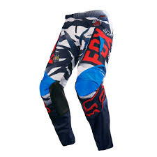 fox motocross socks fox racing 2016 180 vicious pants blue white available at