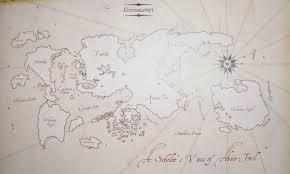 Faerun Map The Map Of Abeir Toril Faerûn Pinterest