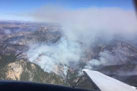 Canada Wildfire Smoke Usa by Massive Us Fire Crosses Into Canada Salmon Arm Observer