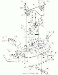 cub cadet 50 deck parts diagram cub cadet zero turn parts diagram