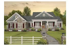 one level home plans home plan homepw03117 2156 square foot 3 bedroom 3 bathroom