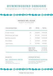 design invoices invoice template design web design invoices