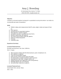 Cover Letter For Nursing Resume licensed practical nurse cover letter