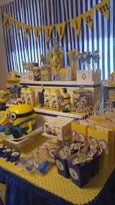 minion party favors minion birthday party candy table minion birthday party