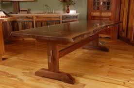 Rustic Pine Dining Tables Dining Popular Rustic Dining Table Wood Dining Table In Living