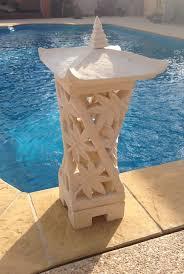 balinese garden lantern www balimystique au artefacts