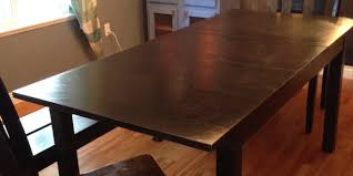 Kitchen Table Ikea by How I Forced An Ikea Table To Turn Into A Diy Farmhouse Table