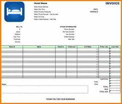 sample resume hotel bill format excel resume ixiplay free resume