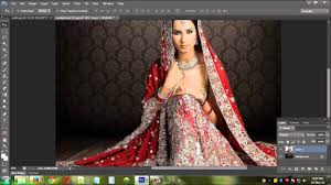 wedding backdrop chagne change background of wedding photo in photoshop