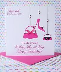 personalised handmade birthday card sister best friend auntie