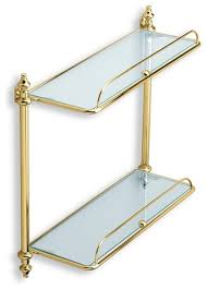 gold bathroom cabinets and shelves houzz