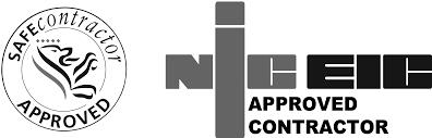 home automation logo design aec electrical contractors southampton hamphire
