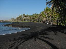 punalu u0027u black sands beach hawaii top ten