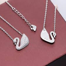 s day pendants silverwill 2017 fashion design of swan pendant necklace jewelry