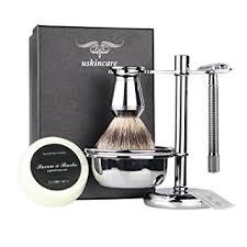 wireless shaving razor black friday amazon amazon com 6 piece shaving gift set includes badger hair
