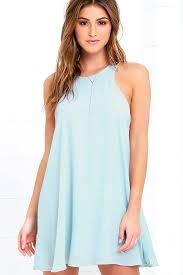 light blue sleeveless dress lucy love charlie light blue shift dress sleeveless dress 73 00