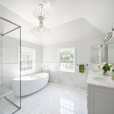 Grey And White Bathroom by Bathtub Buying Tips Hgtv