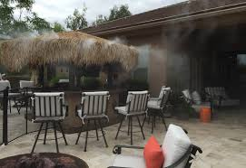 outdoor misting system plan outdoor furniture installing