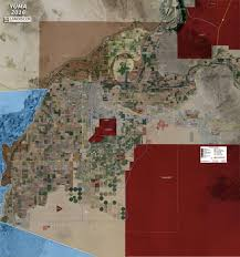 Wall Map Murals Yuma Aerial Wall Mural Landiscor Real Estate Mapping