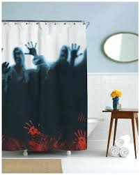 Mens Shower Curtains Shower Curtains For Mens Bathroom Herd Shower Curtain Scary
