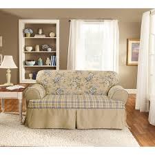 2 Piece T Cushion Loveseat Slipcover Sofa Beautiful T Cushion Sofa Slipcovers Image Of Sure Fit