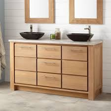 vessel sinks double vanity with vessel sinks 60double inch60