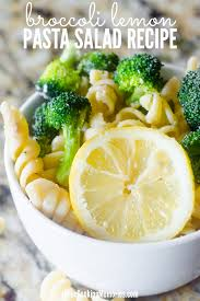 Pasta Salad Mayo by Easy Broccoli Lemon Pasta Salad Recipe Mayo Free Salad